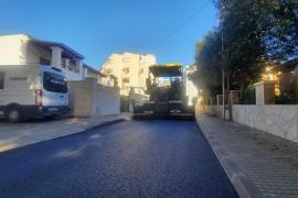Vila inicia el plan de asfaltados 2021 con la mejora de 15 calles de la ciudad