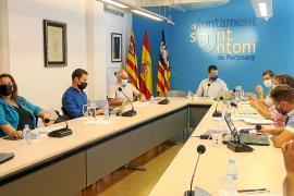 Alivio en Sant Antoni por la negativa a una moción de censura