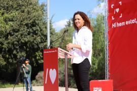 Catalina Cladera presenta su precandicatura a la secretaría general del PSOE de Mallorca