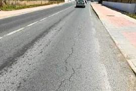El Consell d'Eivissa invertirá ocho millones en mejoras en la carretera que une Ibiza y Sant Josep