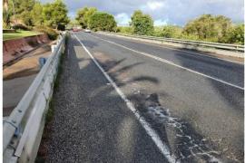 Este jueves comienzan las obras de rehabilitación de la carretera de Santa Eulària
