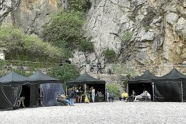 Sa Calobra se convierte en un enclave cinematográfico con el rodaje de 'The Crown'