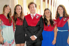 Graduación de la Escuela de Turismo Felipe Moreno