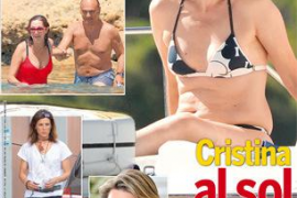 Cristina de Borbón en Menorca portada de la revista SEmana