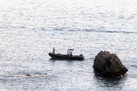 El cadáver hallado en aguas de Formentera corresponde a una mujer