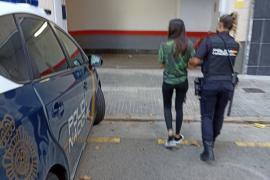Detenida tras amenazar con un cuchillo a su compañera de piso en Palma
