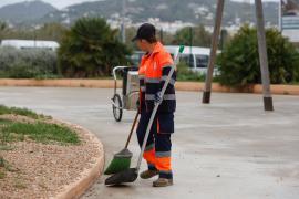 Ibiza después de las fuertes lluvias, en imágenes.