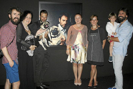 Pedro Vidal presenta su Autorretrato con perro