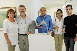 Exposición de obras de Juli Ramis y Joan Costa en la galería Marimón de Can Picafort