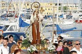 Procesiones de la Virgen de Carmen en Palma y Sóller