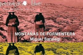 Miguel Saralegui presenta su libro de poemas 'Montañas de Formentera'