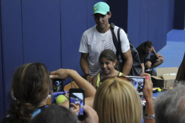 """El tenista ha declarado que su vuelta ha sido """"infinitamente"""" mejor de lo esperado tras ocho meses sin jugar."""