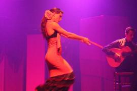 Flamenco y degustación de productos mallorquines en Teatre Sans
