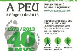 40 edición de la marcha des Güell a Lluc a peu