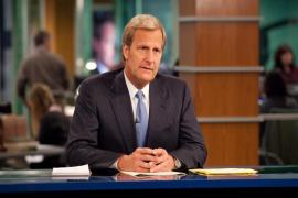 Jeff Daniels encarna al periodista republicano Will McAvoy en la serie The Newsroom
