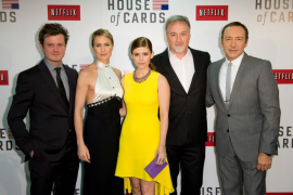 House of Cards es la primera serie de Internet nominada a Mejor Serie Dramática