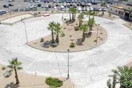 La plaza Bob Marley lucirá en es Pratet