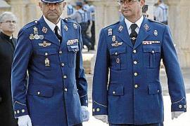 Relevo de mando de la Jefatura del Sector Aéreo de Baleares.