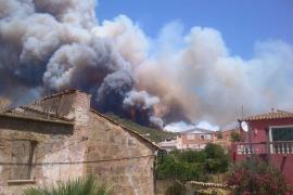Incendio en Andratx