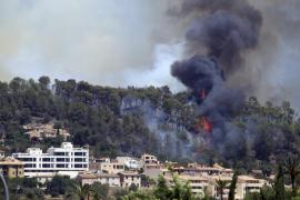 Incendio Forestal en Sa Coma Calenta de Andratx