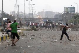 Jornada negra en Egipto con la matanza de más de 60 personas en los disturbios