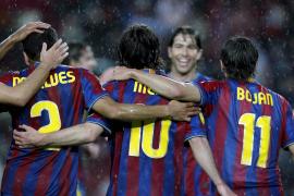 El Barça supera el susto del Tenerife y da un paso más hacia el título