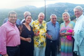 Fiesta de la familia Egger en Son Noguera.