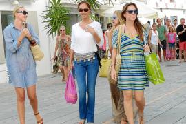 Isabel Preysler de compras en Eivissa