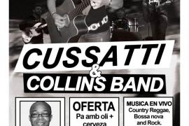 Cussatti & Collins Band en Tu Clave
