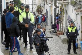 Vila notifica a los habitantes ilegales de sa Penya el expediente de desalojo