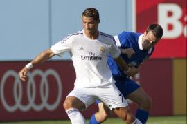 Cristiano marca la pauta y el Madrid se deja llevar ante el Everton