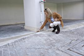 Inspección municipal a los pisos agrietados por la construcción del edificio de Jean Nouvel