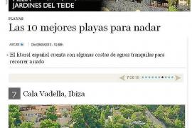 Cala Vedella, una de las 10 mejores playas para nadar de España