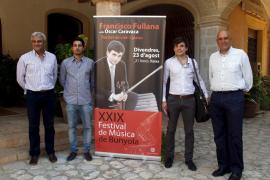 Violín y piano unidos en un recital con Francisco Fullana y Óscar Caravaca
