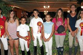 Entrega de premios del Trofeo Infanta Elena de salto