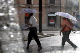 Balears estará hoy en alerta por precipitaciones localmente fuertes