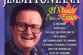 """Muere el cantante italiano Jimmy Fontana, que triunfó con """"El Mundo"""""""