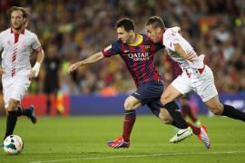 El Barça echa mano de la épica para vencer a un Sevilla que mereció más