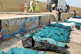 Más de 130 inmigrantes muertos y 200 desaparecidos en Lampedusa