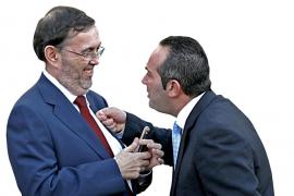 Vicenç Grande y José Miguel García. Eran otros tiempos.