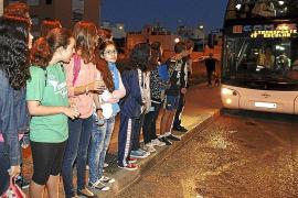 Palma local transporte escolar de son ferriol fotos Teresa Ayuga