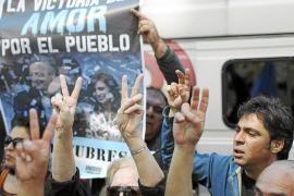 Cristina Fernández se recupera favorablemente tras ser operada