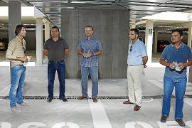 El parking subterráneo de es Pujols dobla el número de usuarios en un año