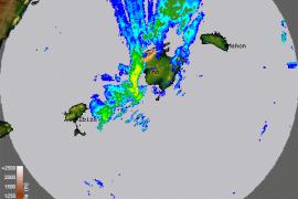 Una fuerte tormenta azota Balears dejando lluvia, viento y miles de rayos