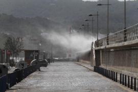 El viento vuelve a Balears con rachas de hasta 110 kilómetros por hora