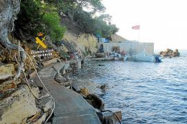 La Guardia Civil imputa al promotor y al constructor de una obra ilegal en es Niu Blau