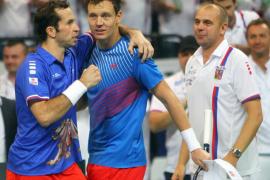 Berdych y Stepanek acercan a  la República Checa a su segunda Copa Davis