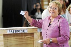 Bachelet se mostró confiada en ganar las presidenciales en la primera vuelta