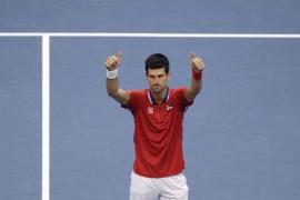 Djokovic recorta 150 puntos a Nadal