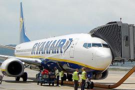 Un pato obliga a suspender el vuelo con Barcelona de Ryanair de este domingo